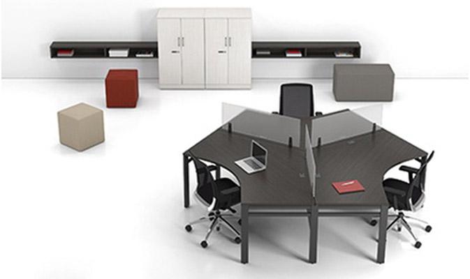 poste de travail take off concet bureau. Black Bedroom Furniture Sets. Home Design Ideas