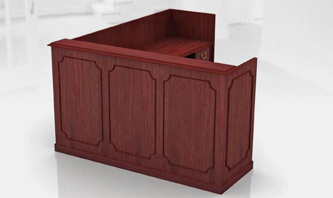 Réception bois classique concept bureau