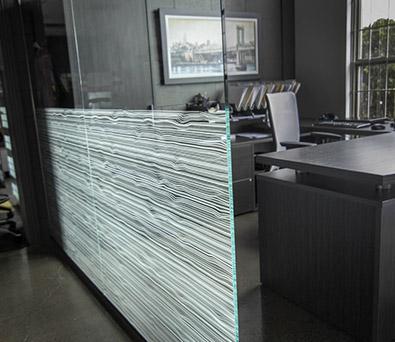 Séparation de verre